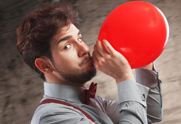Как правильно надуть гелиевый шарик