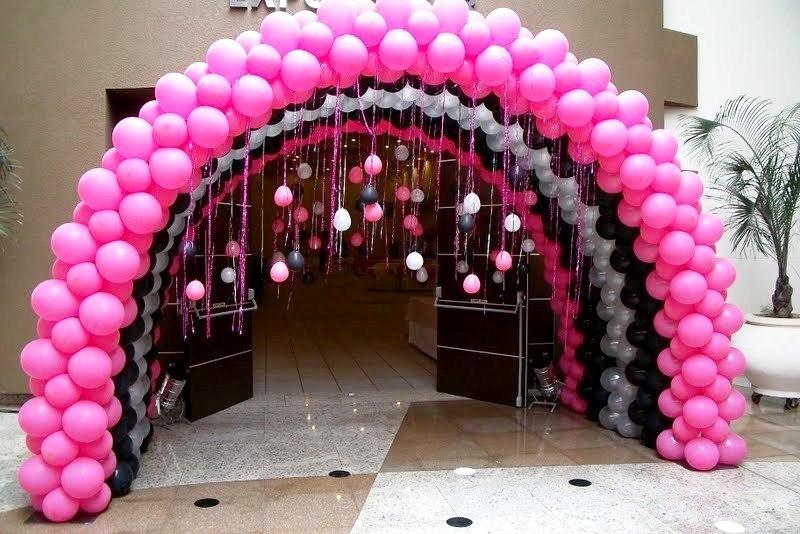 Воздушные шары в виде арок